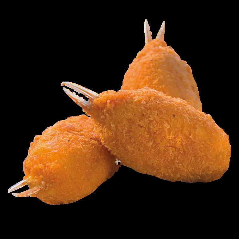 Pinze di granchio panate