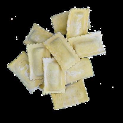 Rettangoli cernia-Pasta ripiena