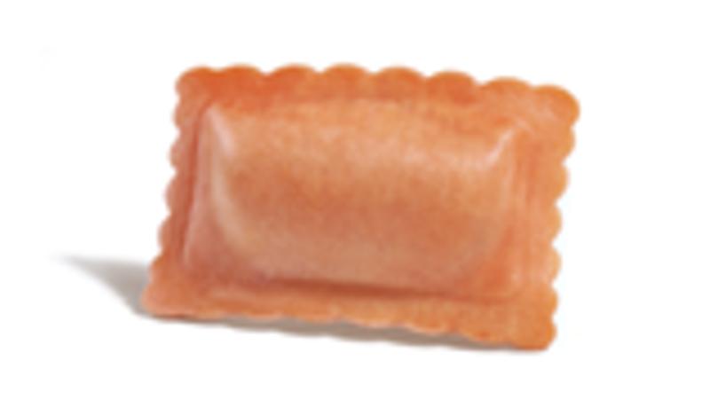 Rettangoli con salmone e aneto