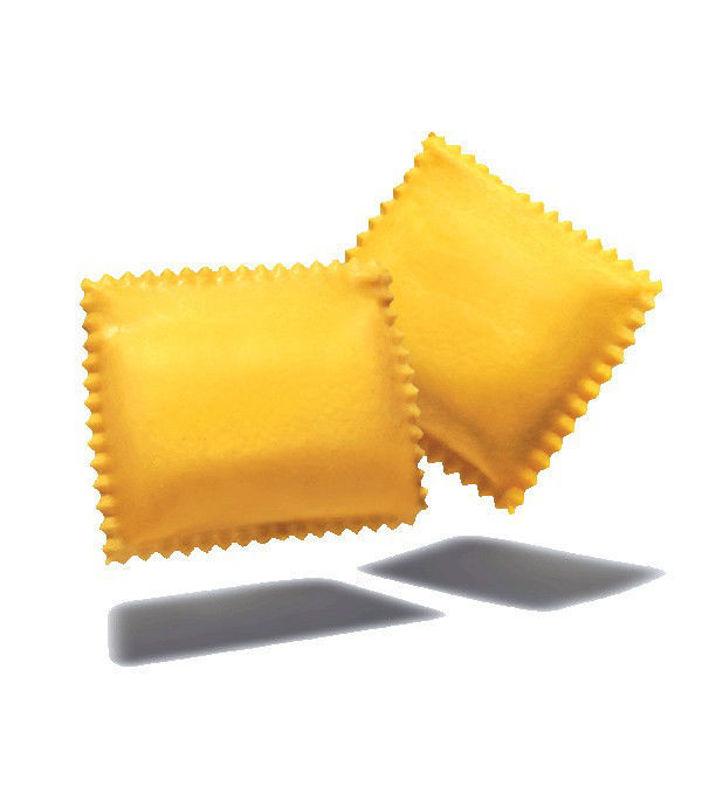 Ravioloni con ricotta di bufala e spinaci