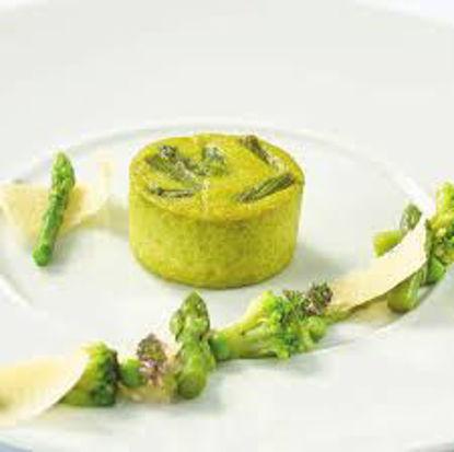Flan di asparagi