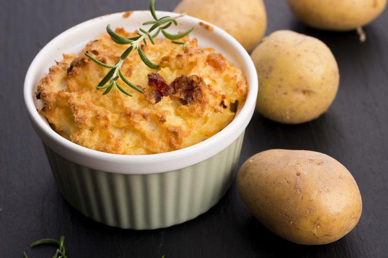 Flan mini gratin di patate
