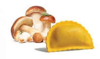 Panzerotti con funghi porcini