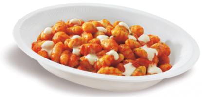 Gnocchi pomodoro e mozzarella